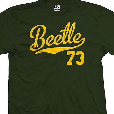 Beetle 73 Script Tail Shirt - 1973 Classic Volkswagen VW Bug - All Size & Colors
