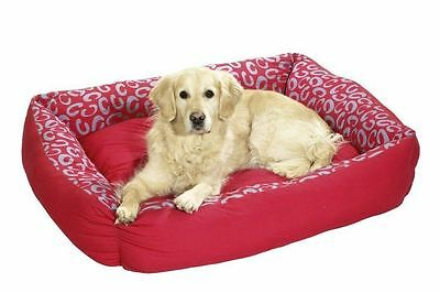 Dog Beds Brand New Pet Cushions Karlie Quantum Red medium 61040 REDUCED