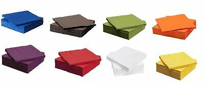 3 Ply Quality Party Paper Napkins Serviettes Tissues Table Ware Bar Dinner BBQ