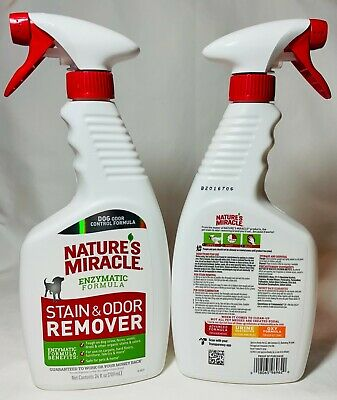 Nature's Miracle Dog Stain And Odor Remover (24 OZ.) Free Shipping New Formula