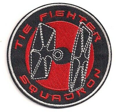 "Star Wars Tie Fighter Squadron Logo 3"" Patch-FREE S&H (SWPA-CD-49)"