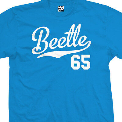 Beetle 65 Script Tail Shirt - 1965 Classic Volkswagen VW Bug - All Size & Colors