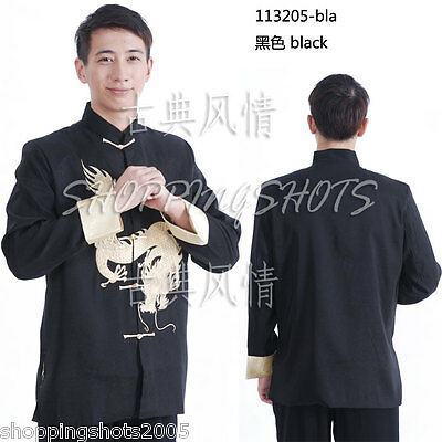 chinese coat clothing clothes for men jacket 113205 multi-colored XS-XL in stock