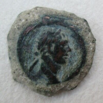 Roman Bronze Coin Trajan Minted In Egypt