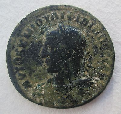 Ancient Bronze City Coin - Philipp Antioch - Archaeology