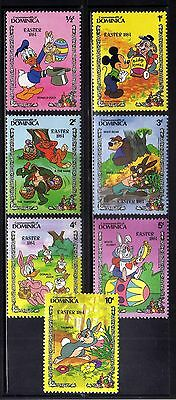 DOMINICA 1984 MNH  Disney Easter