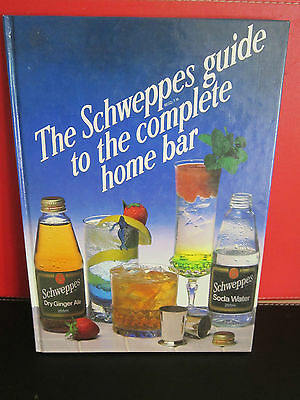Retro Schweppes Complete Home Bar And Guide.great For Planning That Party