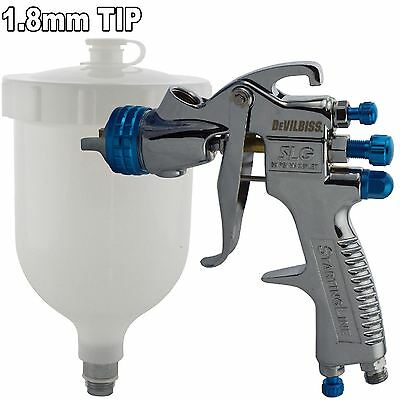 Devilbiss SLG-620 Compliant Spray Gun Gravity Feed 1.8mm Solvent Paint & Primers