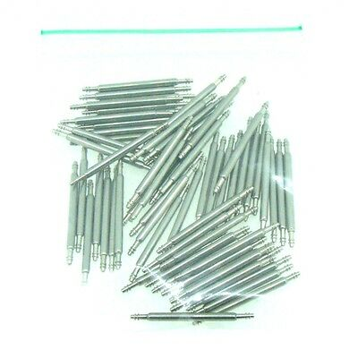 100 x Wholesale Watch Strap Stainless Steel Spring Bar Watch Pins 6mm to 40mm