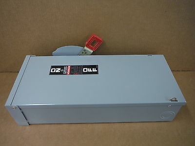 GE Safety Switch 3 Pole 3 Wire 60 Amp TH3362R
