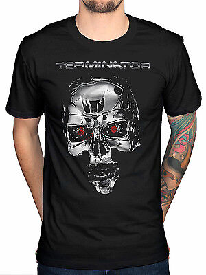 NEW /& OFFICIAL! Studio Canal Terminator /'Face//Borg/' T-Shirt