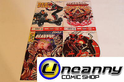 Deadpool 36 37 38 39 Complete Axis Comic Lot Run Set Collection NM