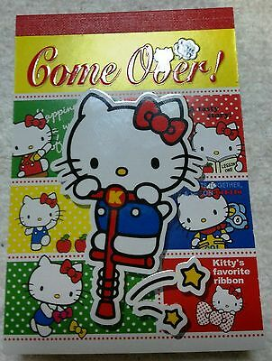HTF Special Rare Japan Limited Cute Hello Kitty Memo Note Pad Paper Sanrio New