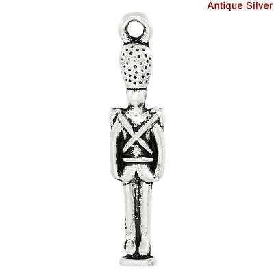 Exclusive Line Skull Heart Stainless Steel Charm Quantity Options BFS3784