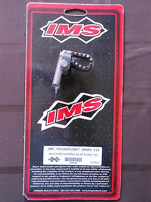 Ims Folding Steel Weld On Brake Pedal Tip Vintage Mx Ahrma Cr Kx Rm Tm Yz