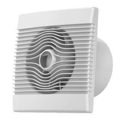 Premium Bathroom High Flow Extractor Fan 100-150mm Timer Pull Cord Humidistat