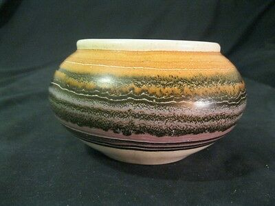 Vintage Royal Haeger Agate Glaze Bowl/Planter
