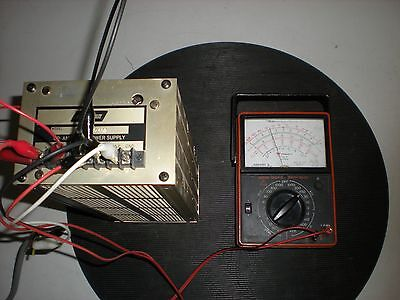 Acopian Model TD15-450 Op Amp Dual Power Supply - Powers up as shown