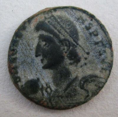 Roman Ancient Coin Constantine Family Archaeology