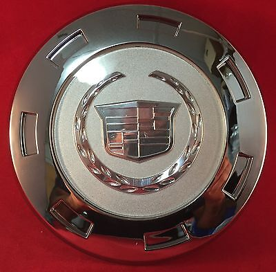 "1 NEW CADILLAC ESCALADE 2007-2014 22"" CHROME WITH PLAIN CENTER HUB CAP"