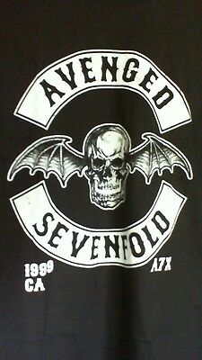 Avenged Sevenfold Death Bat Shirt! New Official Merchandise Metallica Pantera