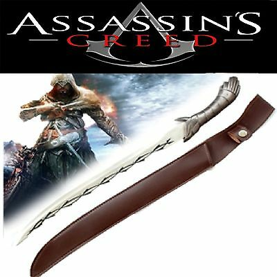 Assassin's Creed Full Tang Stainless Steel knife&Machete with Sheath