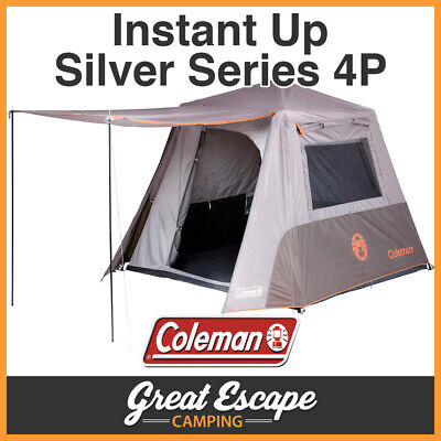 Coleman Instant Up 4 Person Tent FULL FLY 4P NEW MODEL 2016-17