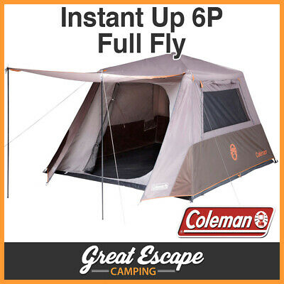 Coleman Instant Up 6 Person Tent FULL FLY 6P NEW MODEL 2016-17