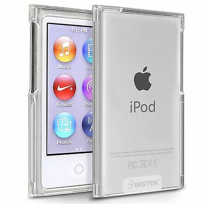 Clear Slim Hard Plastic Case Cover Skin For Apple iPod Nano 7 Generation 7th 7G