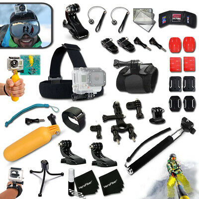 Xtech® for GoPro HERO4 Hero 4 Black Edition Camera Accessory Kit