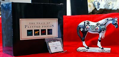 THE TRAIL OF PAINTED PONIES 3E/4649 ITEM NO. 1546 TEWA HORSE
