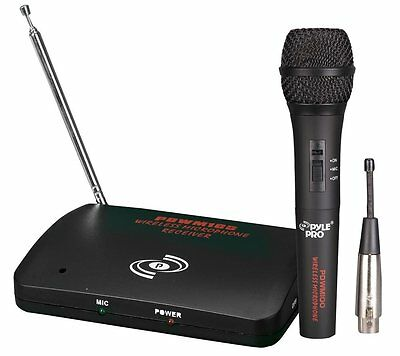 PYLE-PRO PDWM100 - Dual Function Wireless/Wired Microphone System, Free Shipping