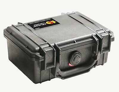 Pelican 1120 Case with Foam for Camera (Black), Free Shipping, New