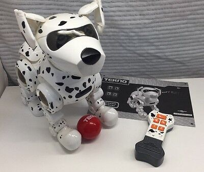 tekno the robotic puppy dalmatian manual