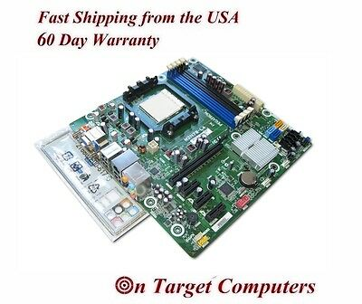 NEW HP Violet3-GL8E M2N78-LA Motherboard AM3 DDR3 503098-001 w I/O plate