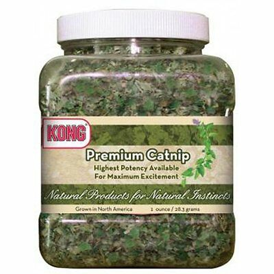 Kong Premium Catnip 2oz FREE SHIPPING New Sealed