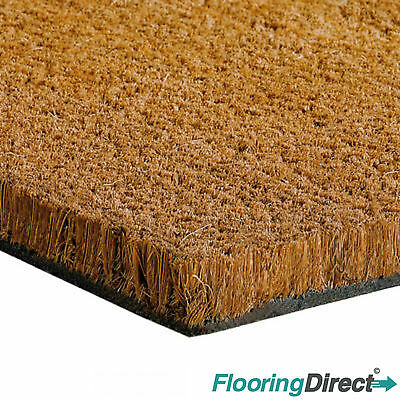 Coir Matting - Natural Coconut Mat - Reception - Entrance - Door Mat - Any Size