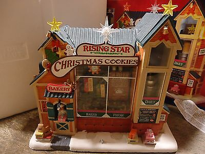 Lemax Village Collection Rising Star Bakery As-Is 1040