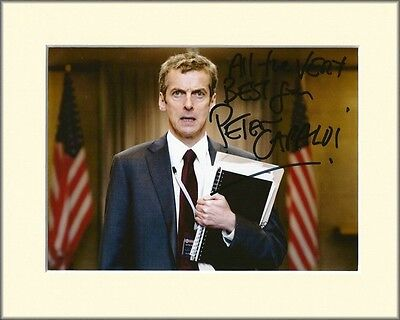 Peter Capaldi Doctor Who Pp Mounted 8X10 Signed Autograph Photo