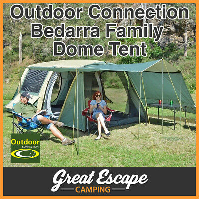 Outdoor Connection Bedarra Dome Tent (8p Out door Camping Hiking Family)