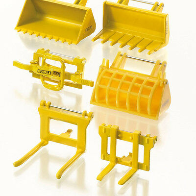 Siku 7070 - Tractor Frontloader Accessories Stoll Set - Scale 1:32