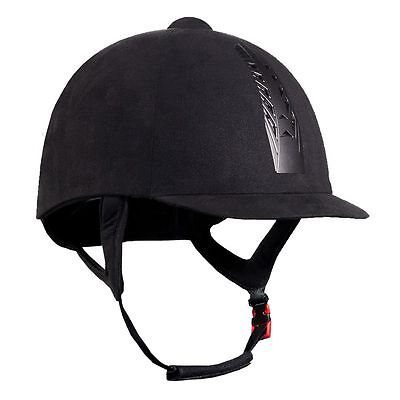 Horze HaloGlide Horse Riding Hat/Helmet BSI Approved Black- All Sizes in stock