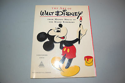 The Art of Walt Disney New Concise NAL Edition Soft Cover-Christopher Finch 1975
