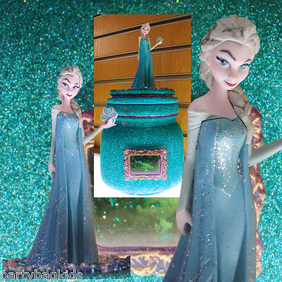 Frozen Gift Keepsake Jar - Adorable Girls Gift Idea Pretty Bedroom Accessory