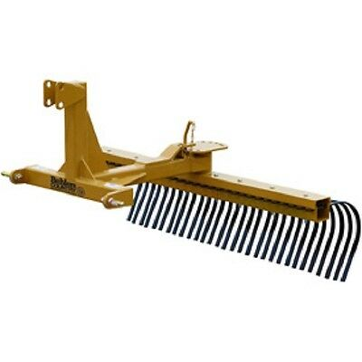 NEW! 6' Medium Duty Landscape Rake Tractor Attachment Category 1!!