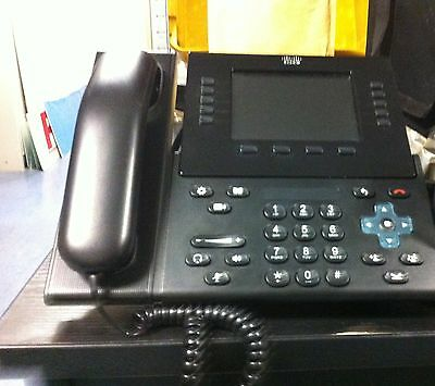 Cisco CP-9951-C-K9 CP-9951 Unified SIP IP Endpoint VoIP Phone Teléfono o