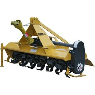 NEW! 5' Gear Driven Rotary Tiller Implement with Adjustable Feet Category 1!!