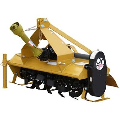 NEW! 4' Gear Driven Rotary Tiller Implement with Adjustable Feet Category 1!!
