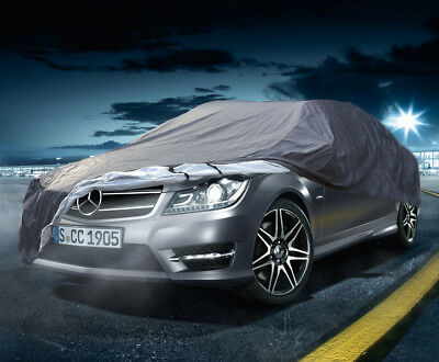 Quality Waterproof Car Cover Mercedes C-Class Saloon W204 H-Duty Cotton Lined-L