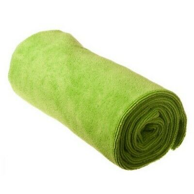 Sea to Summit Tek Towel Ultra Fine Microfibre - LIME - Large Camping Beach Gym